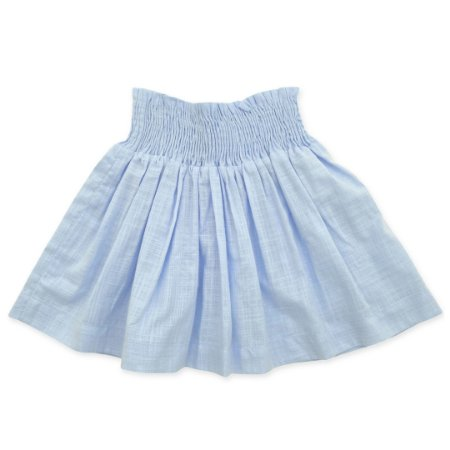 Saia Infantil - Flamê Azul - Cintura Lastex
