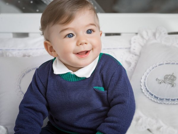 Blusão Infantil Bicolor