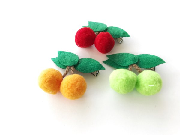 Presilha Frutas Coloridas