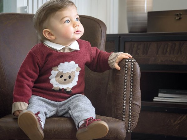 Tricot Bebê Ovelha - Tamanho 1