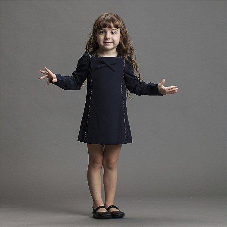 Vestido Marinho Mini Me