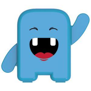 Estojo Porta Dente De Leite - Album Dental - Azul - Angie by Angelus