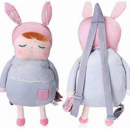 Mochila Metoo doll Angela Classica Cinza