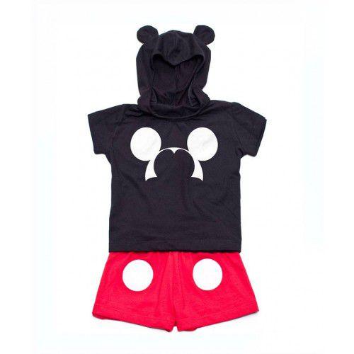 Fantasia Mickey - Tamanho 2 a 6