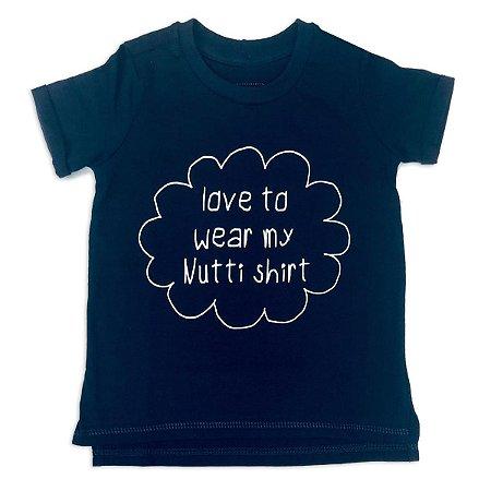 Camiseta Estampada Marinho - Tamanho 1 a 6 anos