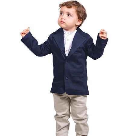 Blazer Infantil Marinho para Festas e Ocasiões Especias