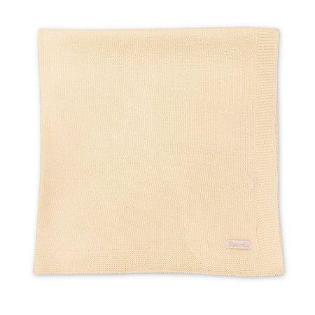 Manta Básica Tricot - 80x80 cm - Diversas Cores