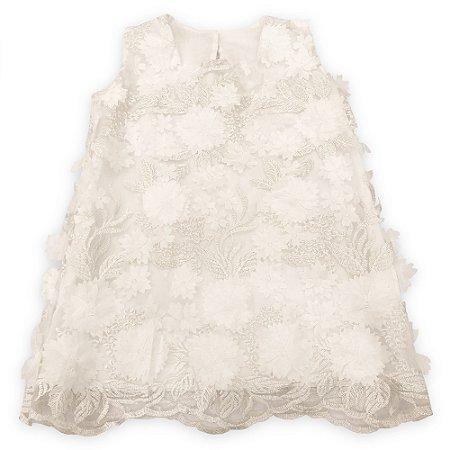 Vestido 3D Isadora - Tam 6 a 12 meses