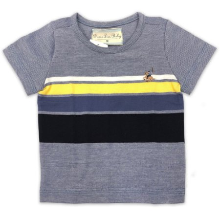 Camiseta Listras Indigo - Tamanho P a 1