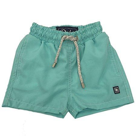 Shorts Nylon Infantil Verde Água