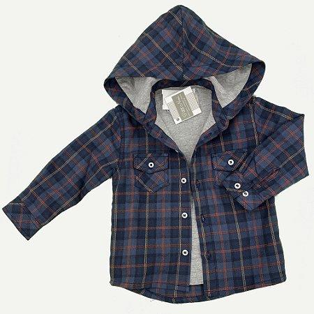 Camisa Infantil Flanela Xadrez