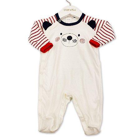 Macacão para Bebê Ursinho - Tam P ao G