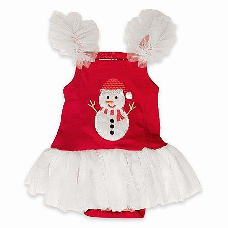 Vestido Body Boneco de Neve