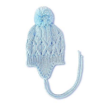 Touca Bebê Azul Céu