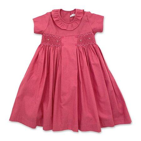 Vestido Casinha de Abelha Goiaba