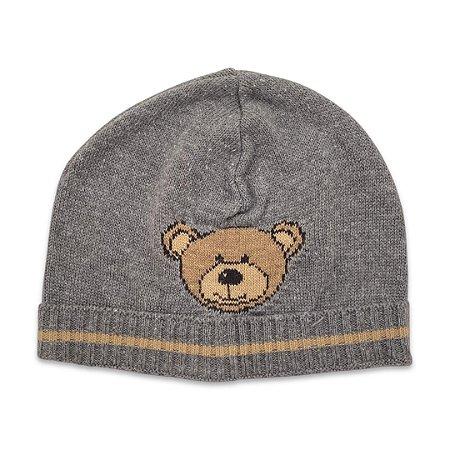 Gorro Infantil Urso Cinza Chumbo