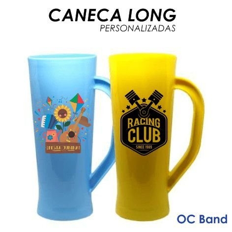 Caneca Long Personalizada  450 ML