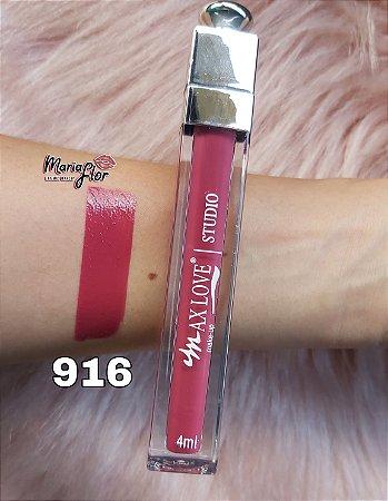 Lip Gloss Efeito 3D Max Love 916
