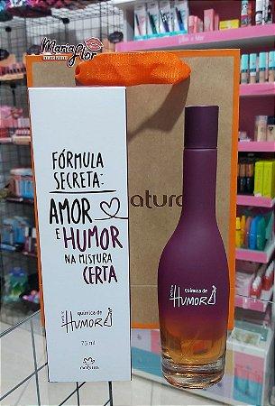 Desodorante Colônia Fórmula Secreta: Amor e Humor na Mistura Certa - Natura Química de Humor 75ml