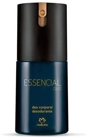 Deo corporal Essencial Oud Masculino 100 ml Natura