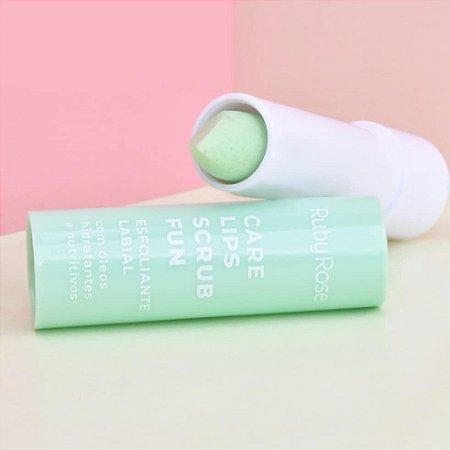 Esfoliante Labial Care Lips Scrub Fun Ruby Rose (menta)