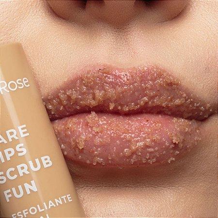 Esfoliante Labial Care Lips Scrub Fun Ruby Rose coffe
