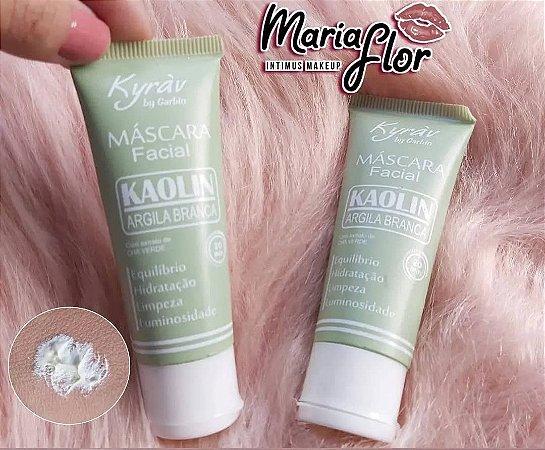 Máscara Facial Argila Branca Kaolin E Chá Verde 30 Ml Kyrav