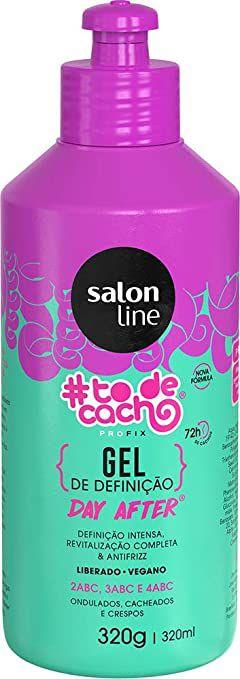 Gel Líquido #todecacho Day After, 320ml, Salon Line, Salon Line, Transparente
