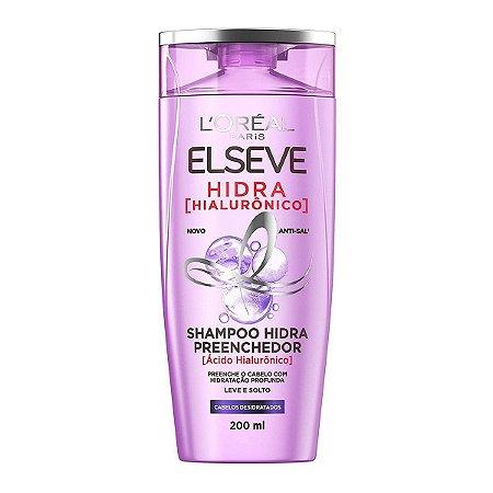 Shampoo Preenchedor Elseve Hidra Hialurônico 200Ml L'oréal Paris