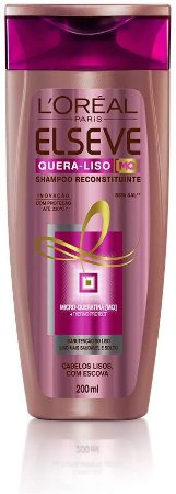 Shampoo Elseve Quera-Liso 230ºC 200ml