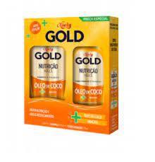 Kit Shampoo + Condicionador Niely Gold Nutrição Mágica