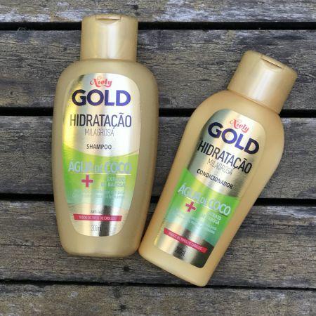 Shampoo + Condicionador Niely Gold Hidratação Milagrosa