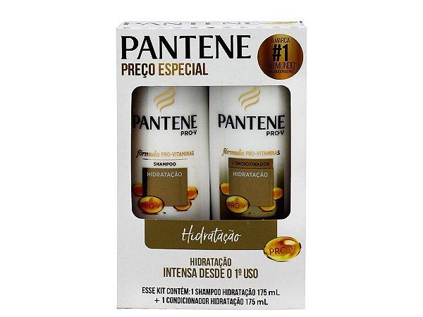 Shampoo e Condicionador Pantene Hidratação Intensa Emb. c/ 2 Unid. 175ml cada
