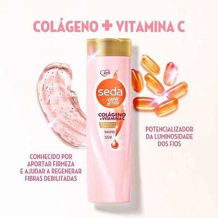 Shampoo Seda by Niina Secrets Colágeno + Vitamina C 325ML