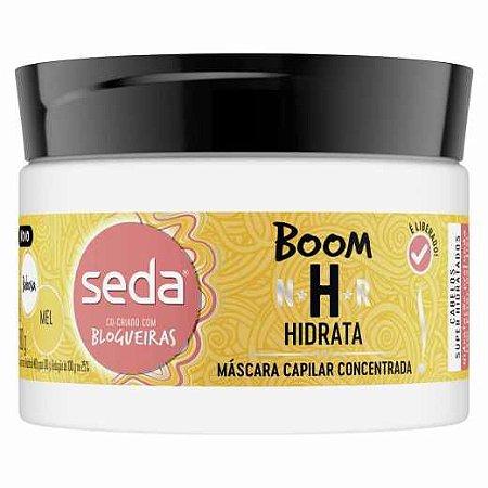 Máscara Capilar De Tratamento Seda Boom Hidrata 300g
