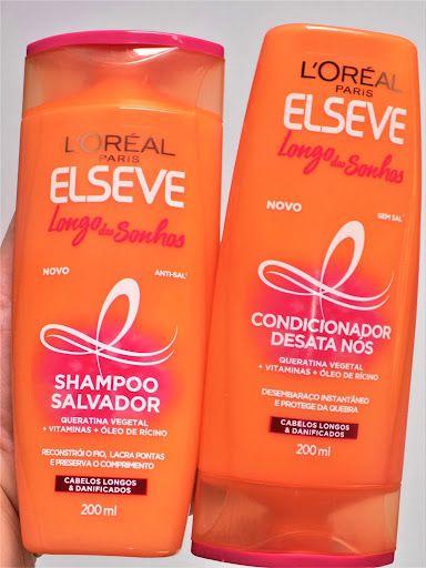 Shampoo e Condicionador Longo dos Sonhos – Elseve 200ml