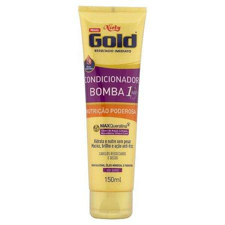 Condicionador Niely Gold Nutrição Poderosa Bisnaga 150ml