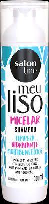 Shampoo Salon Line Meu Liso Micelar Limpeza Hidratante 300ml