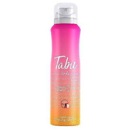 O Desodorante Aerosol Antitranspirante Tabu Linda