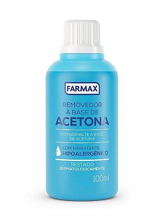 Acetona Removedor de Esmalte Farmax 100mL