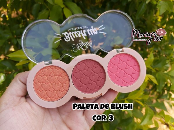 Paleta de Blush Mylife -  cor 3