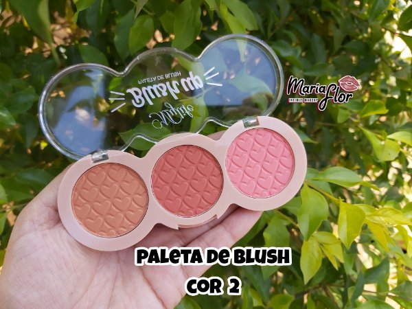 Paleta de Blush Mylife - cor 2