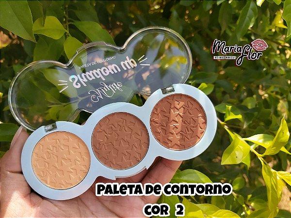 Paleta De Contorno Shadow Up - My Life cor 02