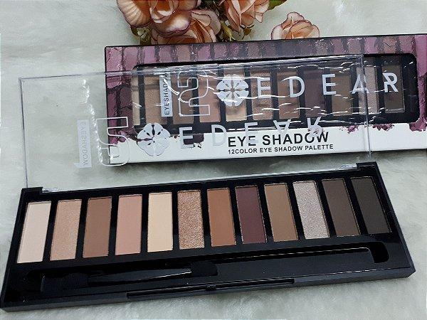 Sombra eyeshadow de 12 cores