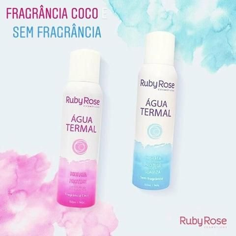 Agua termal Ruby Rose