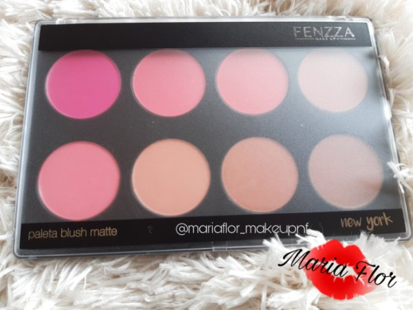 Paleta de Blush 8 Cores New York Fenzza FZ-BS31NY-D