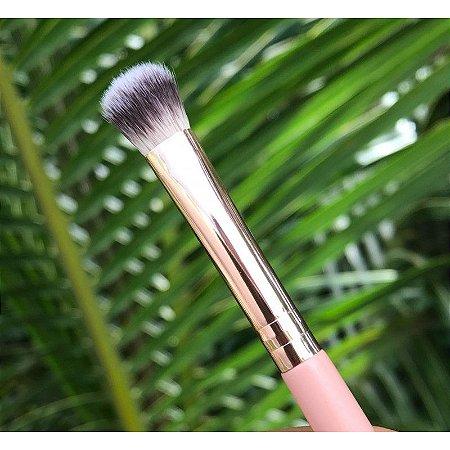 Pincel B10 Profissional Para Sombra Arredondado Linha Rosê Gold- Miss Frandy