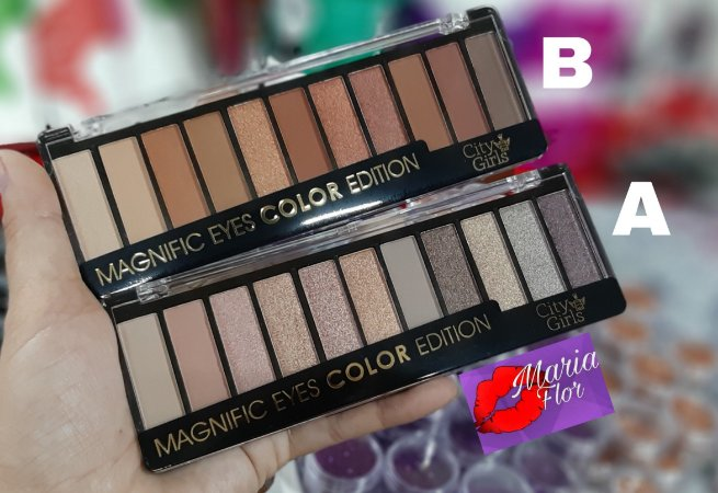 Paleta de Sombras Magnific Eyes Color Edition
