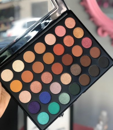 Paleta de sombra best 35 cores Sp color