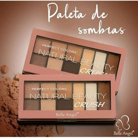 A paleta de sombras Natural Beauty Crush